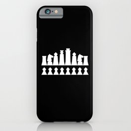 Chess Collectible – Figures' Line-up (Globally Local Media) iPhone Case