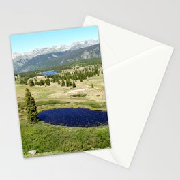 Panorama of the San Juans from Molas Pass, at 10,910 feet Stationery Cards