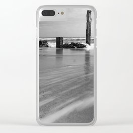 'Long Lines' - Port Willunga, South Australia Clear iPhone Case
