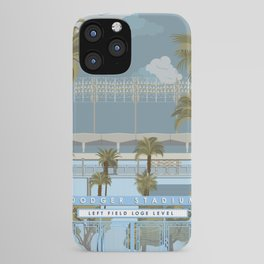 Dodger Stadium Gates View iPhone Case