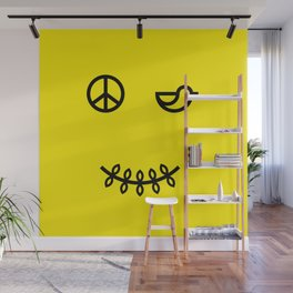 SMILE FOR PEACE Wall Mural