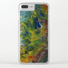Mermaid and Sea Dog Clear iPhone Case