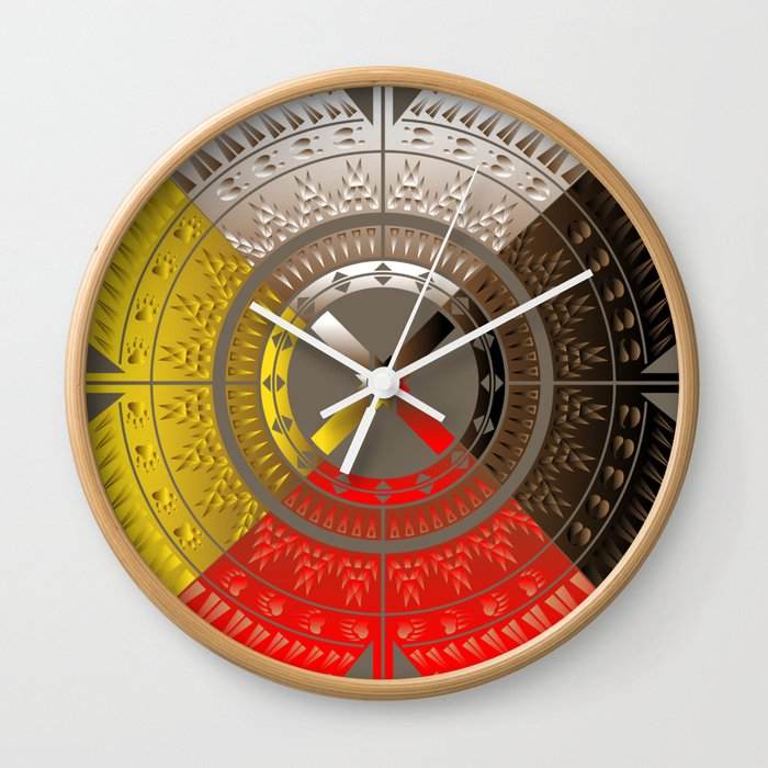 The Four Direction Wall Clock
