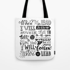 Where You Lead | Gilmore Girls Tote Bag