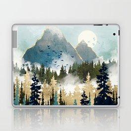 Misty Pines Laptop & iPad Skin