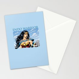 Endo Warrior - Fight Endometriosis Stationery Cards