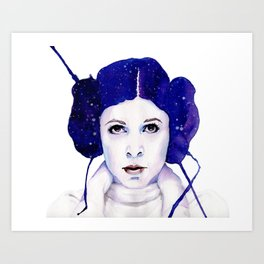 space princess Art Print