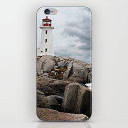 Peggy's Cove Light House -- Nova Scotia iPhone Skin