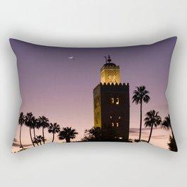 Koutoubia Moon - Marrakech Rectangular Pillow