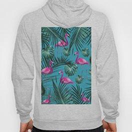 Tropical Flamingo Pattern #4 #tropical #decor #art #society6 Hoody