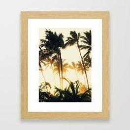 Punta Cana Sunset  Framed Art Print