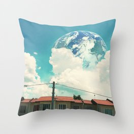 Earth Like Throw Pillow