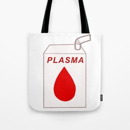 Plasma carton Tote Bag