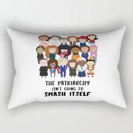 Smash the Patriarchy Rectangular Pillow