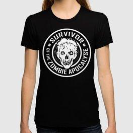 Survivor of the Zombie Apocalypse T-shirt