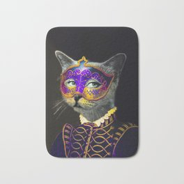 Cool Animal Art - Cat Bath Mat