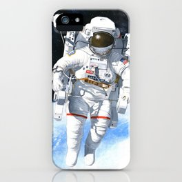 A nice flying machine iPhone Case