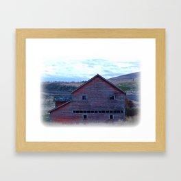 Barn 1 Framed Art Print