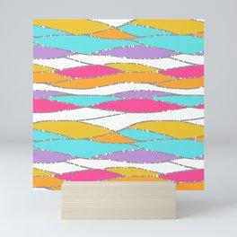 Tropicana Waves Mini Art Print