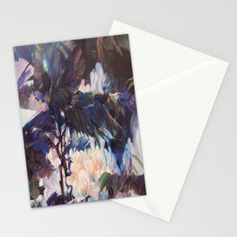 oblivious painter Stationery Cards