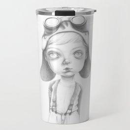 The little Steampunk boy Travel Mug