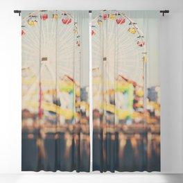 Santa Monica Pier Blackout Curtain