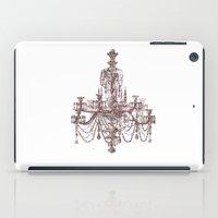 chandelier iPad Cases featuring Chandelier by Indraart