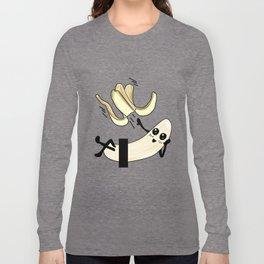 striptease banana Present gift naughty kinky Long Sleeve T-shirt