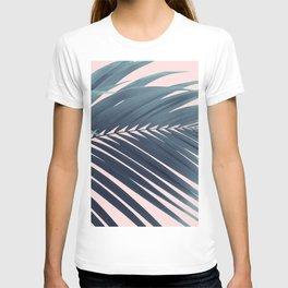 Palm Leaf Blush Vibes #1 #tropical #decor #art #society6 T-shirt