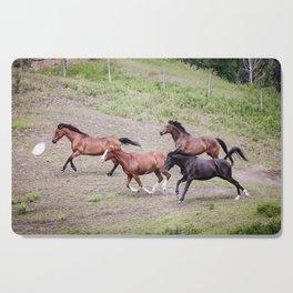 Running Herd Cutting Board