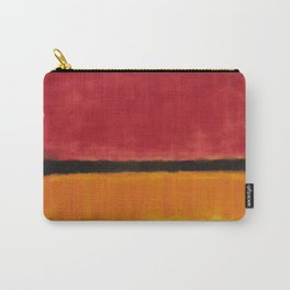 1949 Untitled (Violet, Black, Orange, Yellow on White and Red) by Mark Rothko Carry-All Pouch
