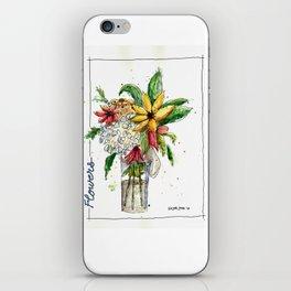 Flowers 1 iPhone Skin