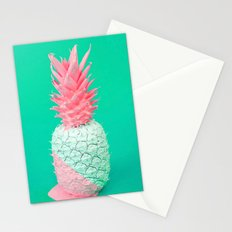 Pineapple - Pastel Stationery Cards