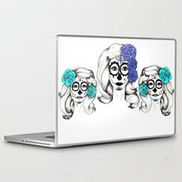 gothic Laptop & iPad Skins featuring Gothic by bexchalloner