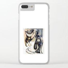 Sleepy Starbird Clear iPhone Case