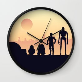 Droids Wall Clock
