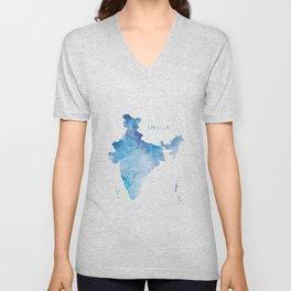 India Unisex V-Neck