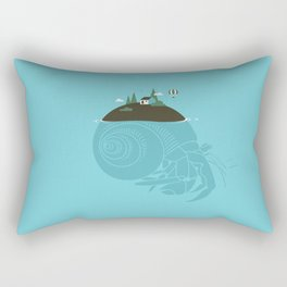 Hermit Rectangular Pillow