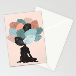 growing mind Stationery Cards