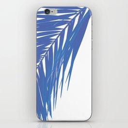 PALM BLUES iPhone Skin
