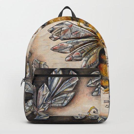 Crystal bumblebee Backpack