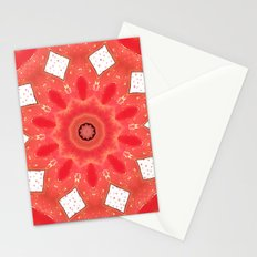 Burning love Stationery Cards