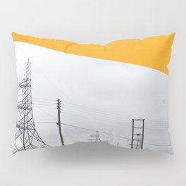 Orange Pylons Pillow Sham