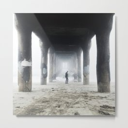 Mystified Metal Print