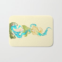 Girl summoner Bath Mat