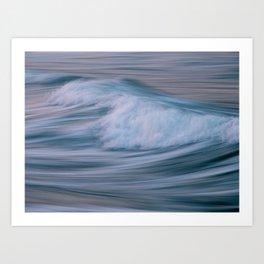 The Sea XIX Colour Hi-Res Abstract Photography Art Print