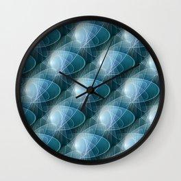 Ellipses Wall Clock