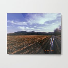 Back Roads Metal Print
