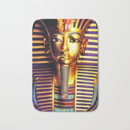 King Tutankhamun Bath Mat
