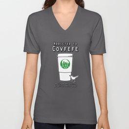 Addicted to Covfefe Unisex V-Neck